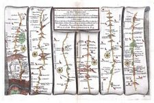 Antique map, The Road from London to Holy-Head plate 021