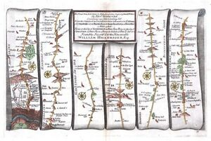Antique-map-The-Road-from-London-to-Holy-Head-plate-021