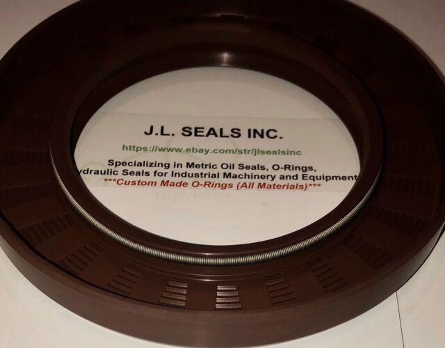 METRIC VITON OIL SEAL TC 25 40 6 FKM DOUBLE LIP HIGH TEMP 25X40X6 25X40X6VTC