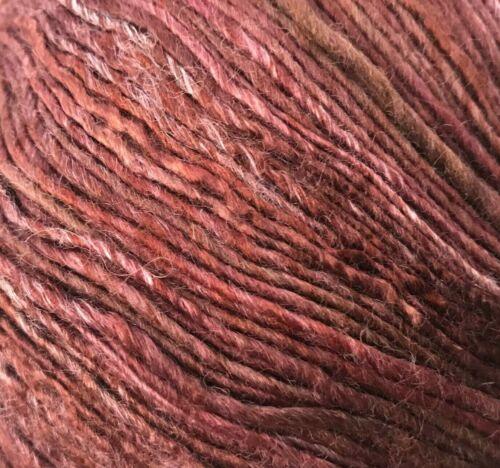 #4303 Ruby Red Pink Tonal Sport Weight Yarn Berroco Boboli Lace Yarn