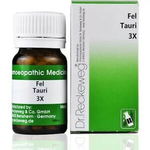 Details about Dr Reckeweg Germany Homeopathy Fel Tauri 3X Trituration (20g)
