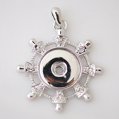 Premium Snap It Pendant For Snap Button Jewelry  **We Combine Shipping**