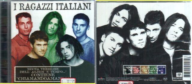 RAGAZZI ITALIANI NUOVA VERSIONE ALBUM E' TEMPO CD SEALED