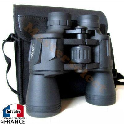 Par de binoculares prismáticos MARINO potente 20x50 Regulable Boshile