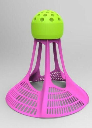 AirShuttles Outdoor Badminton 3 shuttles per tube designed for AirBadminton