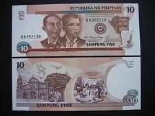 PHILIPPINES  10 Piso 2001  (P187i)  UNC