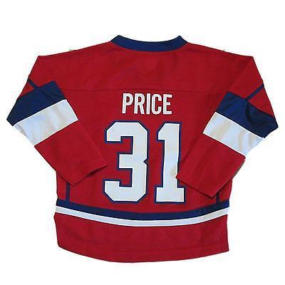 promo code 424c3 295c9 New NHL Reebok Montreal Canadiens Carey Price #31 Hockey Jersey Boys Size 4  | eBay