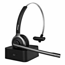 Mpow M5 Pro Bluetooth 5.0 Headset Wireless Office Headphones Mic for Call Center