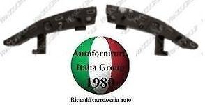 KIT SET STAFFA GUIDA PARAURTI ANTERIORE ANT DX+SX CITROEN C3 09/>13 2009/>2013