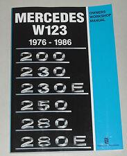 Werkstatthandbuch / Reparaturanleitung Mercedes W123 200 230 250 280 E