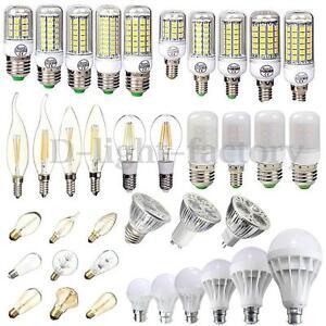 E27-E14-GU10-G9-SMD-LED-Bulb-5W-6W-7W-9W-12W-15W-40W-COB-Edison-Lamp-Corn-Light