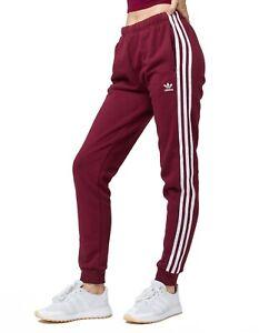 adidas maroon track pants