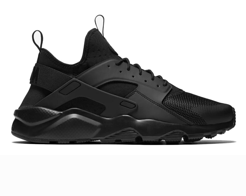 on sale ce44b 62e94 Nike Air Huarache Ultra 819685 002 Baskets Hommes Triple Noir Gym Chaussures