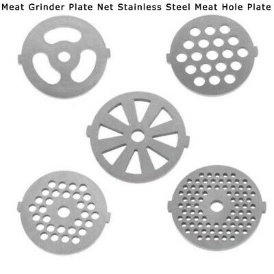 Meat Grinder Plate Net Meat Grinder Parts stainless Steel Meat Hole Plate YG