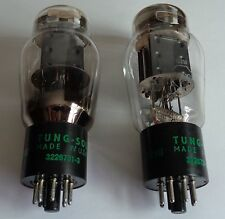 NOS TUNG SOL 5998 TUBES DOMINO BLACK PLATE 421A TYPE TWO AVAILABLE