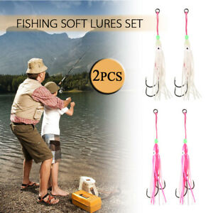 Swim Fishing Tackle Saltwater Octopus Bait hook Soft Silicone Squid Skirt Lure