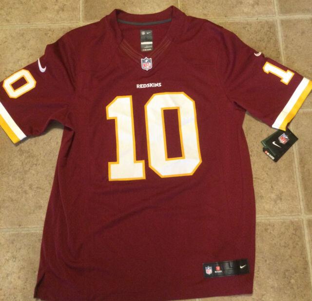 Nike NFL Washington Redskins Limited Rg3 Griffin III 10 Mens Football Jersey