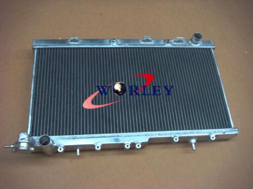 50mm 2 ROW For NISSAN pulsar N14 GTIR SR20DET N15 Aluminum Radiator AT//MT