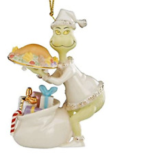 Lenox Christmas Grinch Saves The Feast Annual Ornament New 2020 890408