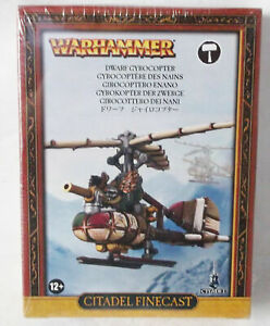 Warhammer Citadel Finecast Dwarf Gyrocopter Model Kit