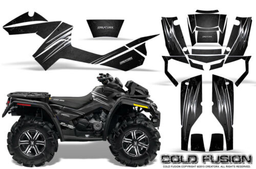 CAN-AM OUTLANDER XMR 500 650 800R GRAPHICS KIT CREATORX DECALS STICKERS CFB