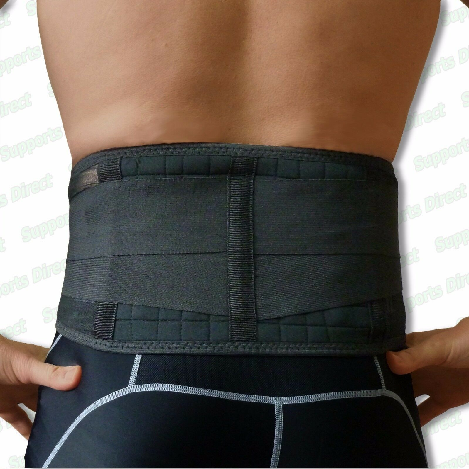Magnetic Back Support 20 Pain Relief Magnets Lower Lumbar Brace Belt Strap £7.99 @ eBay