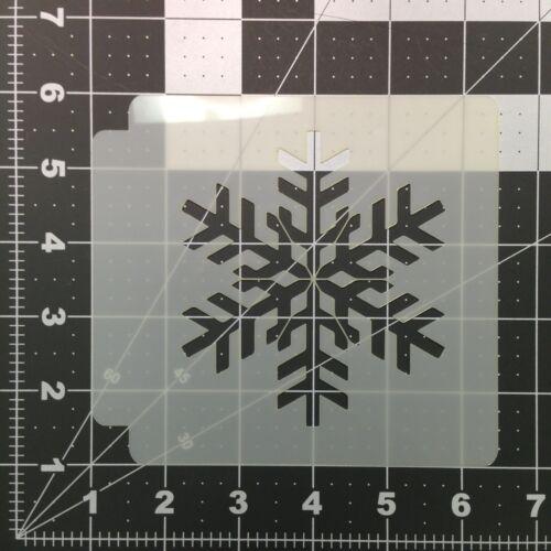 Flocon de neige 100 Stencil