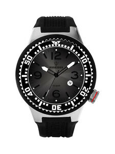 POSEIDON-Unisex-Armbanduhr-L-Analog-Silikonband-UP00400-Schwarz-UVP-119
