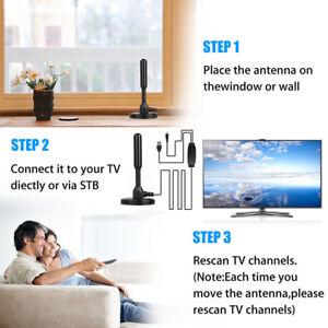 200 Mile Range Antenna TV Digital HD 4K Antena Digital Indoor HDTV 1080p CHZ