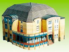 Gebäude Kartonbausatz JugendstilVilla Esche Chemnitz, Maßstab 1:100 - H0geeignet