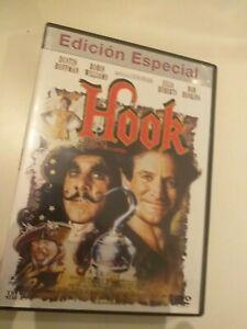 Dvd-HOOK-EDICION-ESPECIAL-IN-FILM-DE-STEVEN-SPIELBERG-Y-CON-DUSTIN-HOFFMAN