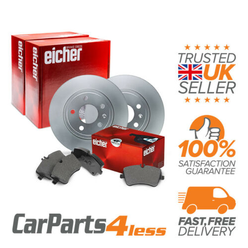 Fiat Ducato Maxi 2.8 Diesel 02.98-On Eicher front brake KIT 2x DISQUE 1x Pad Set