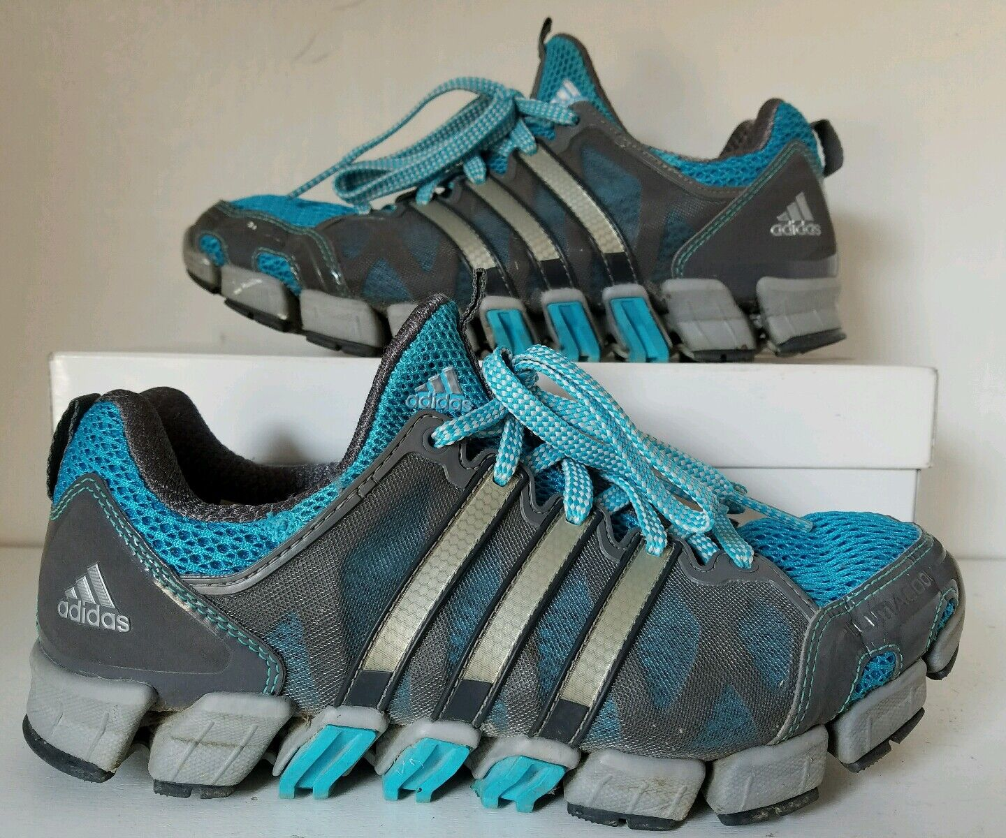ADIDAS CLIMACOOL RIDE TR W RUNNING SHOES G47126 bluee Size 6.5