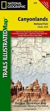 National Geographic Trails Illustrated Map: Canyonlands National Park, Utah : Outdoor Recreation Map 210 (2008, Map, Other)