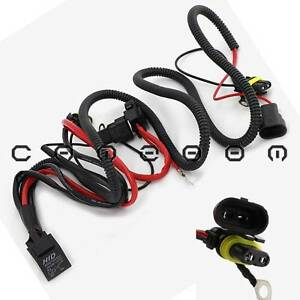 h1 hid single beam headlight conversion relay harness wire. Black Bedroom Furniture Sets. Home Design Ideas
