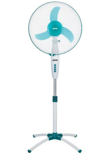 Ventilatore Zephir a Colonna Piantana da terra Oscillante 40 cm 3 velocità 45W
