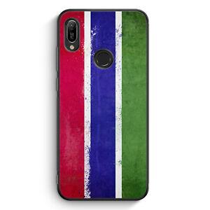 Gambia Grunge Custodia in silicone per Huawei y6s motivo Design Cover per Cellulare Guscio Schu...