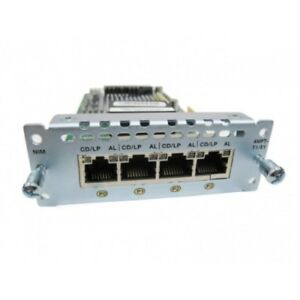 Used-Cisco-NIM-4MFT-T1-E1-Voice-and-WAN-Network-Interface-Module-for-4000-Serie