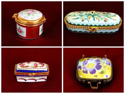 Umoristico Porta Pillole Portapillole Scatolina In Ceramica,regalo/bomboniera/matrimonio