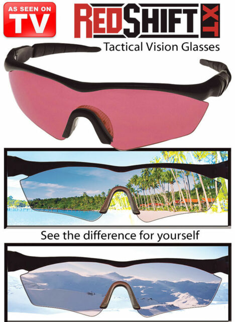 7ea009251e Red Shift XT Precision Vision Tactical Glasses as Seen on TV for ...