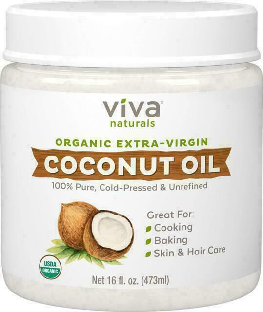 Viva Naturals Viv3652 Extra Virgin Coconut Oil 16oz For Sale Online Ebay