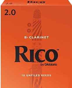 Rico RCA1020 Bb 2Clarinet Reeds - 10 Pack