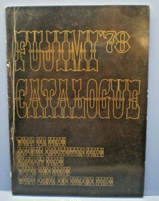 FUJIMI 1978  50 page full line color Dealer Sales Catalog with price list L@@K!