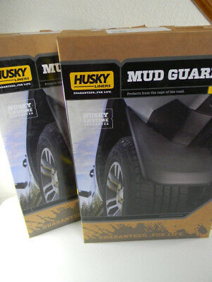 Front /& Rear Mud Guards 2011-2015 Jeep Grand Cherokee Husky Liners 58101+59101