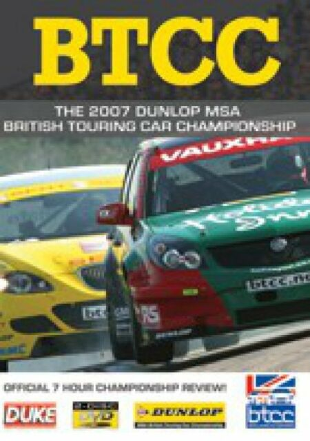 BTCC British Touring Car Championship - Official Review 2007 (2 DVD set) New