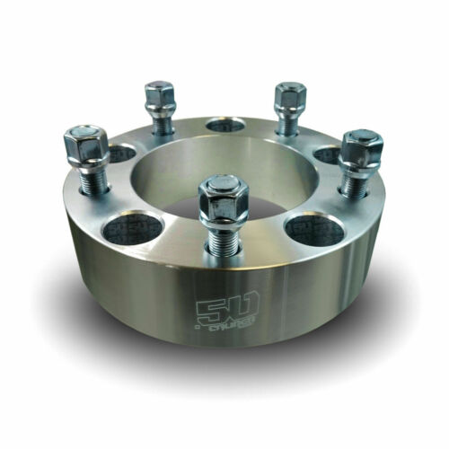 """Pair 5x5.5 139.7 Wheel Spacers 1.5/"""" Fit Dodge Ram D100 Ford F-150 F-100 Bronco"""