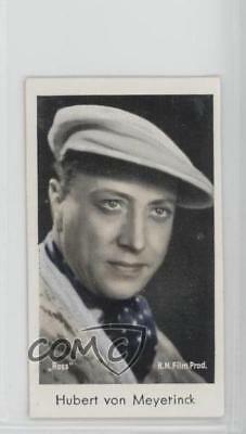 1934 Caid Beruhmter Filmkunstler Tobacco Base #241 Hubert Von Meyerinck Card 1s8 Finely Processed Non-sport Trading Cards Collectibles