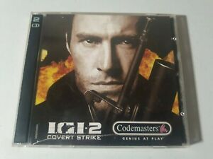 I.G.I Covert Strike 2 2 Discs PC Game Good Condition Discs Only