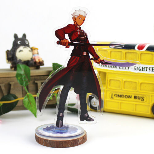 Anime Fate//Grand Order Saber Nero Cosplay Acrylic Stand Figure Display Model NEW