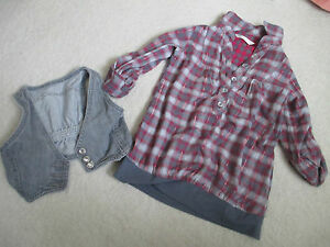 096 Matalan shirt and vest   size 3 years - <span itemprop='availableAtOrFrom'>Manchester, Lancashire, United Kingdom</span> - 096 Matalan shirt and vest   size 3 years - Manchester, Lancashire, United Kingdom
